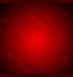abstract dark red polygonal which consist of vector image