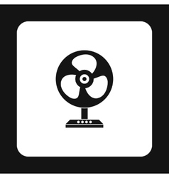 Fan icon simple style vector image