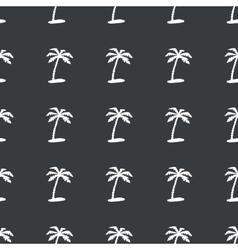 Straight black vacation pattern vector image
