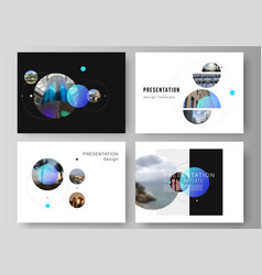 The minimalistic layout presentation vector