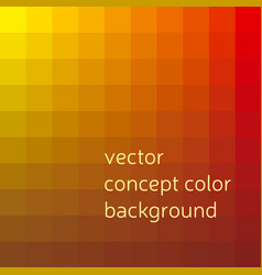 red and yellow abstract concept geometry vector image