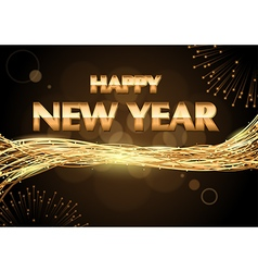 Happy New Year Greeting vector image vector image