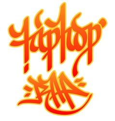 Hiphop Rap vector image vector image