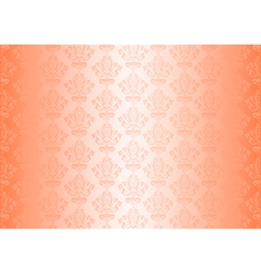 peachy wallpaper vector image vector image
