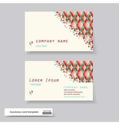 Business cards set vector