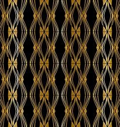 Modern gold stylish vector image vector image