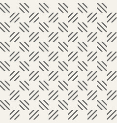 abstract seamless pattern of stripes squares vector image