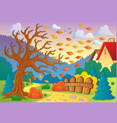 Autumn thematic image 9 vector