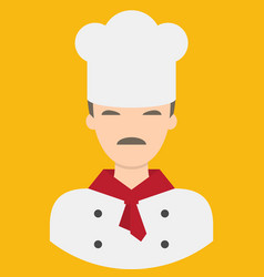chef characte icon great of character use for vector image