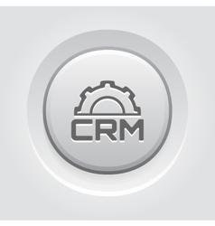 CRM Platform Icon vector image