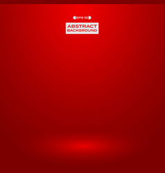 gradient red studio presentation background vector image
