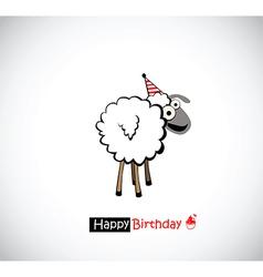 Happy Birthday funny vector image