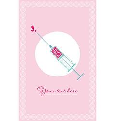 Love doctor vector