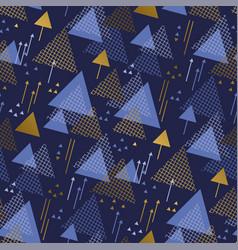 luxury concept geometric seamless pattern vector image