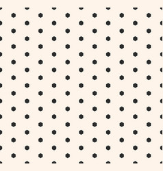 minimalist seamless pattern with tiny hexagons vector image