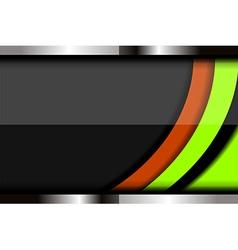 Modern curve background design vector