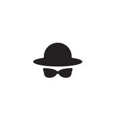 nerd geek boy icon design template vector image