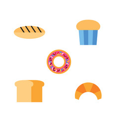 pastry icon vector image