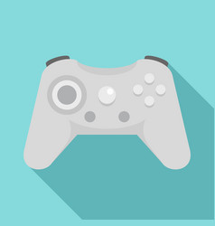 wireless controller icon flat style vector image