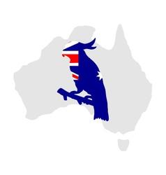 Australian cockatoo vector image vector image