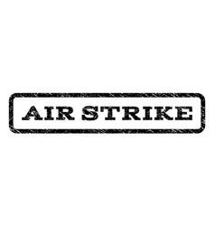 air strike watermark stamp vector image