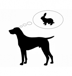 german short haired dog vector image