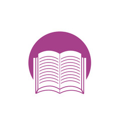 Book learning school ico vector