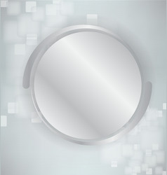 Abstract background with silver and realistic vector