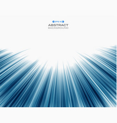 abstract of technology blue speed stripe line vector image