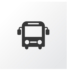 Bus icon symbol premium quality isolated autobus vector