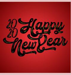 happy new year 2020 vector image