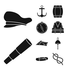 isolated object attributes and vintage symbol vector image
