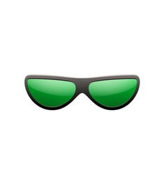 Sunglasses 3d summer sunglass shade isolated vector