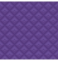 Purple Geometric Royal Pattern vector image vector image