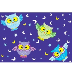 background owl 2 vector image vector image