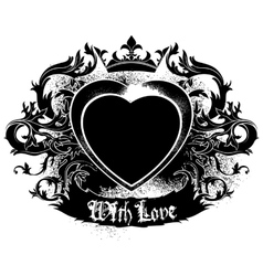 decorative symbol of Love vector image vector image