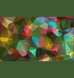 abstract colorful geometric backgrounds polygonal vector image