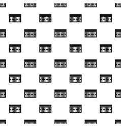Brick pattern simple style vector