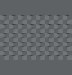 grey abstract texture background 3d paper style vector image
