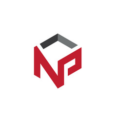N letter property logo template vector