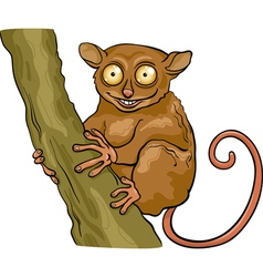 tarsier animal cartoon vector image