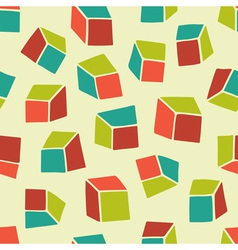 Abstract pattern Seamless geometric wallpaper vector image