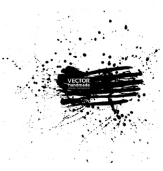 Abstract banner of spray paint vector image vector image