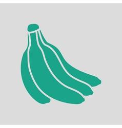 Banana icon vector image vector image