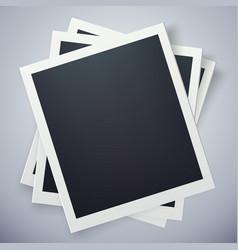 retro photo frame sweet memories concept vector image vector image