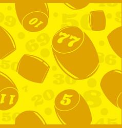 russian lotto vector image vector image