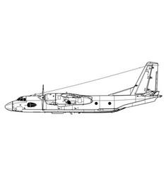 Antonov an-26 curl vector