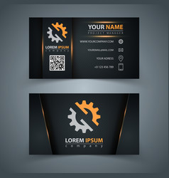 Business template idea for your print vector