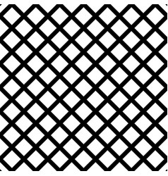 cellular grid seamless black and white pattern vector image