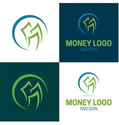Money logo and icon 2 vector